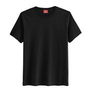 精梳棉系列文化衫【黑色现货】
