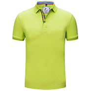 新款亮绿精品POLO衫-定制LOGO